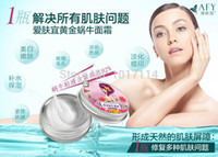 Wholesale New Hot Gold Snail Cream Moisturizing Whitening Face Care Anti wrinkle Nourish Snail Repair face cream skin care Day Cream