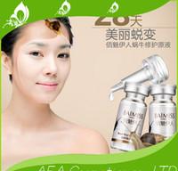 Wholesale Snail liquid printed whitening acne acne serum capillarie m l