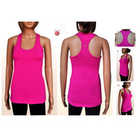 Wholesale Girls Yoga Gear Yoga Tank Ladies Fit Yoga Top Latest Lululemon Racerback Tank Womans Red Lulu Lemon Yoga Tank in Size XS XL