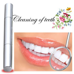 Wholesale hot sell Silvery white Bleach Stain Eraser Teeth Whitening Pen Tooth Gel Bleach dental care