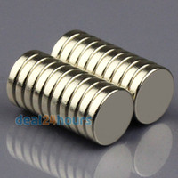 Wholesale 20pcs N50 Super Strong Round Disc Cylinder Magnets Rare Earth Neodymium mm x mm