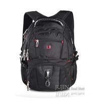 Wholesale NEW D Nylon Swissgear Backpacks Laptop backpack Waterproof Large Space Inch Men s Travel MM headphone jack Bags