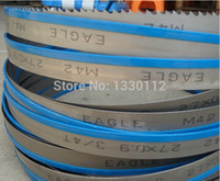 Wholesale long blade life for sale mm band saw blade for cutting metal steel stainless aluminum copper from Chinese factory