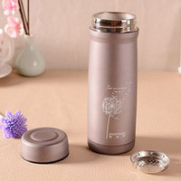 Wholesale Hotsale New ml lovely cartoon stainless steel mugs fashion Insulation cup Holding time1 H Travel cup high quality