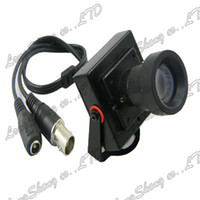 Yes Pan / Tilt / Zoom Video Camera Wholesale-Hi Resolution 25mm Low Illumination Mini 1 3 CMOS HD 600TVL Surveillance Color CCTV Camera