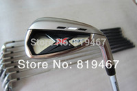 Wholesale golf clubs X hot irons set pw aw sw with dynamic gold steel S300 shaft free headcover golf irons