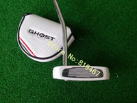 Wholesale Left handed golf clubs ghost manta putter inch free headcover golf putter with steel shaft