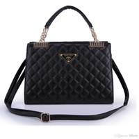Wholesale 2014 fashion small sachet plaid genuine leather chain bag small bag shoulder bags big women s handbag