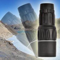 Wholesale HOT x Dual Focus Zoom Green Optic Lens Travel Monocular Telescope Sports Hunting Concert Spotting Scope SV003631