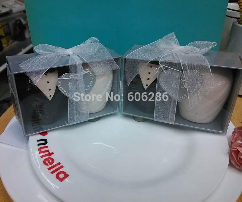 Wedding Gift Delivery Usa : Free shipping USA 50pcs=25sets/lot Wedding Return gifts Ceramic bride ...