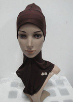 Wholesale Factory Supply Ninja Underscarf and Hats Mini Hijab Assorted Colors Ninja