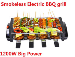 Wholesale Smokeless electric BBQ Grill portable BBQ Grill w power fast heating