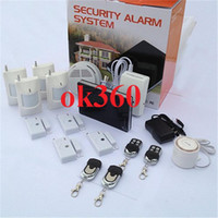 Wholesale New GSM Home Alarm System Kits Support iOS and Android Application door window sensor GSM900 MHz G1D A062 DHL free