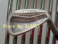 Iron R Right Handed PRO APEX forged golf irons set 3--9#,pw,aw N.S.PRO 950GH steel R flex right hand golf clubs 9irons free headcovers
