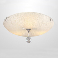 Wholesale Indoor ceiling lamps Glass Cystal MX8005 Ceiling Lights W Modern Living Room light H1671