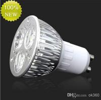 Wholesale High power CREE W x3W NON Dimmable GU10 Bulb MR16 E27 E14 B22 Led Light Lamp Spotlight led downlight lighting