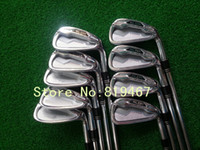 Wholesale 2014 New golf clubs SLDR irons set pw aw sw with dynamic gold steel R300 shaft golf irons