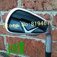Wholesale X hot X2 hot golf irons set PAS graphite shaft regular flex golf clubs irons free headcover