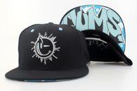 Wholesale E CYUMS snapback hats caps in black new arrival mens women fashion adjustable baseball hat cheap freeshipping
