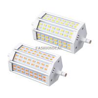 T8 22w SMD 3528 4pcs lot R7S Led 20W SMD5730 118mm J78 LED Light Bulb Light Lamp AC85-265V Replace Halogen Floodlight #3 SV002177