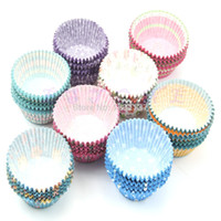 Wholesale L109100pcs Original Mini Round Cake Paper Holds Greaseproof Baking Cupcake Cases