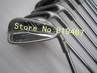 Wholesale golf clubs irons set sw with N S PRO GH steel R flex right hand golf irons free headcover