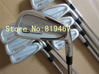 Wholesale New CB forged golf irons set pw with N S PRO GH steel R flex golf clubs irons free headcover
