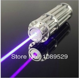 Wholesale High Quality mw W Super Blue Laser Pointers Flashlight Combustion Lgnition Cutting Irradiate m laser pen blue
