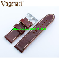 Wholesale 034 Watches Top Brand Men Wrist Band Italy Calfskin Genuine Leather Watch Strap For Panerai