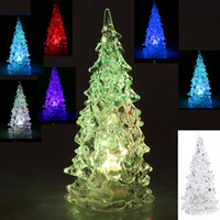 Wholesale LED Enfeites Decoracao De Natal New Year Christmas Gift Ornaments Navidad Natal Christmas Light Cristmas Tree Decorations H8979
