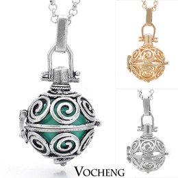 Wholesale Angel Caller colors Angel ball Necklaces Copper Matal with Chime Ball in Pendants VA