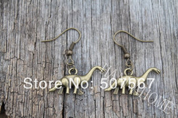 Wholesale brass jewelry earrings dinosaur animal camel fashion women