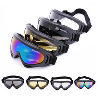 Wholesale WOLFBIKE X400 UV Protection Outdoor Sports Ski Snowboard Skate Goggles Motorcycle Off Road Cycling Goggle Glasses Eyewear Lens