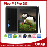 Wholesale PiPo M6Pro M6Pro G Tablet PC Android RK3188 Quad Core GHz inch Retina x1536 GB GB Bluetooth HDMI GPS DHL fre