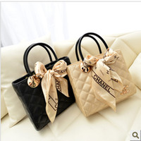 0115 quilted handbags - The new European and American fashion woman scarf Quilted handbag shoulder diagonal package
