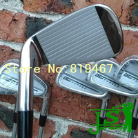 Wholesale New CB forged golf irons set pw with KBS tour steel R flex right hand golf clubs irons free headcovers