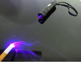 Wholesale Strong Power purple nm blue violet Laser Pointer mw W Strong power purple laser burn matches GT L006