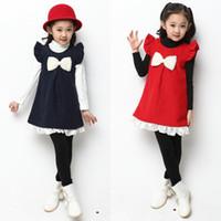 Boy Spring / Autumn  Sale Factory Direct Shop China Wholesale Girls Princess Dress Children Clothing in Spring 2014 Big Boy Child Woolen Vest Skirt Dress