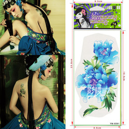 Wholesale Square plates woman costume Mei Jun heart color tattoo sticker tattoo studio painted decal sticker features