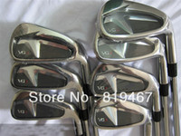 Wholesale golf clubs VG3 golf irons set pw N S PRO GH steel R flex irons RH