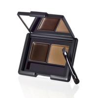 Wholesale Elf eyebrow three dimensional eyebrow gel two color eyebrow kit waterproof makeup