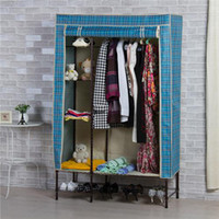 Wholesale Hot Large Space Bedroom Wardrobe Bearing Stiffener Good Quality Wardrobe Closet W