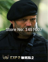 Wholesale Death squads wool beret Dome buds cap general military wool hat black men and women