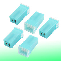 Wholesale Cyan Plastic Shell Female PAL Fuse A for Automotive Cars