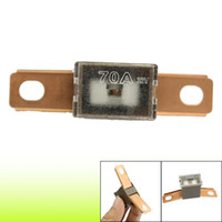 auto fuse link - 70A Amp mm Bent Male Auto Link Pacific Type PAL Fuse Coffee Color