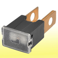 Wholesale 80A Amp Straight Male PAL Pacific Auto Link Blade Fuse Black for Car