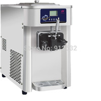 Wholesale OCEANSHIP Hot sale home and business icecream machine soft rainbow stainless steel ice cream maker L h
