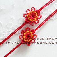 Other Accessories Red Other Classic Sunflower Chinese knot jewelry accessories wholesale home decor wholesale car Bag Strap