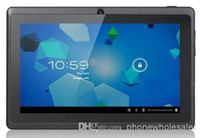 Wholesale 7 Inch Q88 Allwinner A23 Tablet PC android Dual Core MB Ram GB Rom Wifi YouTub
