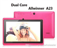 Wholesale 7 Inch Q88 Allwinner A23 Tablet PC android Dual Core Dual Camera MB Ram GB Rom